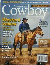 American Cowboy Aug Sept 2016 Western Values Firearm Test Guns FREE SHIPPING sb