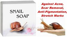SNAIL SOAP Against Acne, Anti-Pigmentation, Scar Removal, Stretch Marks 30g