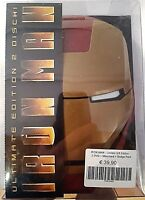IRON MAN ULTIMATE EDITION + MASCHERA + 4 SPILLETTE - DVD (2) NUOVO RARO