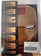 IRON MAN ULTIMATE EDITION + MASCHERA + 4 SPILLETTE - DVD (2) NUOVO RARO