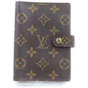 Louis Vuitton Diary Cover R20005 Agenda PM Browns Monogram 1412242