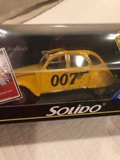 Solido 1/18 Scale Diecast 8051 - Citroen 2CV James Bond - For Your Eyes Only