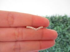 .26 CTW Diamond Half Eternity Ring 18k Rose Gold HE220 sep