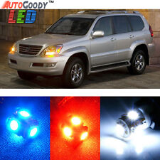 19 x Premium Xenon White LED Lights Interior Package Kit for Lexus GX470