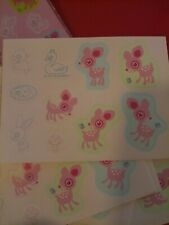 Sanrio Deery Lou Sack O Stickers Hello Kitty Deer Friend 2003