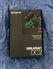 More details for sony walkman wm-dc 2 cassette player retro collectible super rare free u.k. post