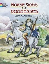 Norse Gods and Goddesses (Dover Coloring Book) ( Menges, Jeff A. ) Used -