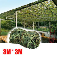 3mx3m Hunting Camping Woodlands Blinds Military Camouflage Camo Net Netting Mesh