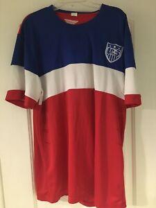 USA Men's Soccer Jersey 2014 (Pre-Owned) (Size XXXL Kids)