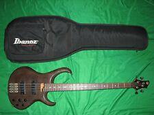 1999 Ibanez BTB 4 String Bass Guitar Fujigen Active with Gig Bag MIJ
