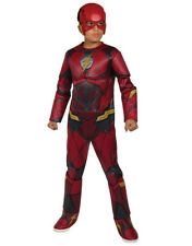 Flash Kids Deluxe  Costume, Large, Age 8 - 10 years, Height 142 - 152 cm
