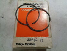 HARLEY AERMACCHI 22475-70 PISTON RING .8 OS NOS OEM