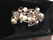 New Women Hair Bobby Pin With Crystal and Pearl Wedding accessories