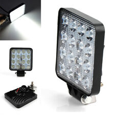 "4.3"" 48W Square Spot Beam Led Work Light Driving Fog Lights For Truck AUV Boat"