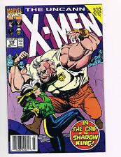 THE UNCANNY X-MEN, THE BATTLE OF MUIR ISLE, VOL. # 1, # 278, JULY 1991