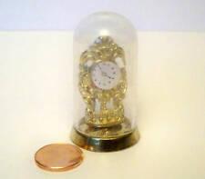 móvil en miniatura espejo-real vidrio-latón-casa de muñecas 1:12