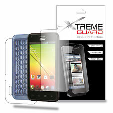 XtremeGuard FULL BODY Screen Protector For LG Optimus F3Q (Ultra Clear)