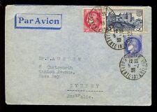 La France à l'Australie 1938 airmail