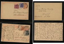 Germany  2 uprated inflation era postal cards                    MS0721