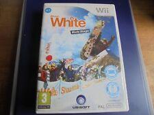 Video juego Nintendo Wii Shaun White Snowboarding escenario mundial