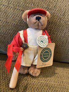 Boyds Bears Yogi Baseball Teddy Bear Stuffed Plush with Bat