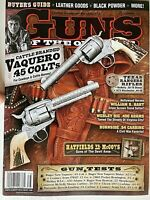 VAQUERO .45 COLTs 2013 GUNS OF THE OLD WEST SPECIAL Magazine TEXAS RANGER RIFLES