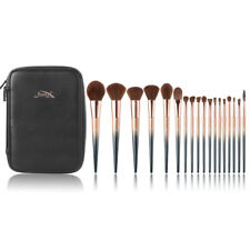 New Jessup Professional Makeup Tools Cosmetic Brush Set Starry Black and Bag Box