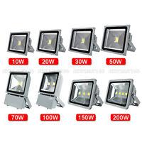 10W 20W 30W 50W 70W 100W 150W 200W LED RGB Flood Light Spotlight Lamp Waterproof