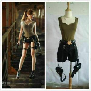 Hot!Tomb Raider Lara Croft Cosplay Costume Full set
