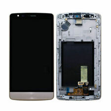 For LG G3 Mini D722 LCD Touch Screen Display Digitizer Assembly + Frame Gold RHN