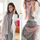 Hot Ladies Women Fashion Pretty Long Soft Chiffon Scarf Wrap Shawl Stole Scarves