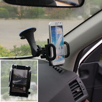 Universal Car Windshield Long Arm Mount Holder For Samsung Galaxy Note 3/4/5/8/9