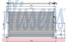 NISSENS Condensador, aire acondicionado FORD MONDEO 94585