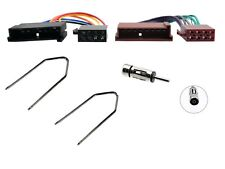 FORD ESCORT EXPLORER FIESTA FOCUS CD STEREO ISO WIRING HARNESS ADAPTOR KIT