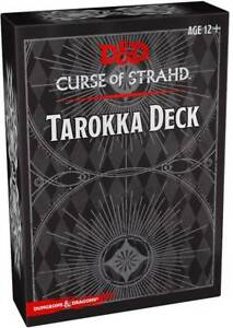 DUNGEONS & DRAGONS - 5TH EDITION - CURSE OF STRAHD - TAROKKA DECK