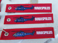 3er SET Super Puma Bundespolizei  REMOVE BEFORE FLIGHT Avion / Aircraft  YakAir