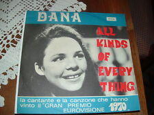 """DANA EUROVISIONE'70  """" ALL KINDS OF EVERYTHING """"  ITALY'70"""