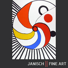 """ALEXANDER CALDER """"Spirale multicolore"""" handsignierte Farblithografie, Auflage 75"""