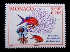 SELLOS MONACO 2000 2271 PECES ACUARIO 1v.