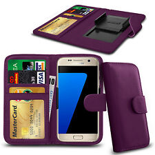 Clip On Series PU Leather Wallet Book Case For Pantech Discover