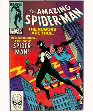 AMAZING SPIDERMAN NO.252 (COMIC BOOK COVER) WOODEN WALL PLAQUE