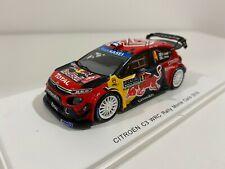 Spark S5975 Citroën C3 WRC- Rally Monte Carlo 2019 1/43 #NEW