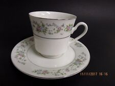 Sango Majestic Fine China - Cannes Pattern 8078 - Cups & Saucers - Lot of 2!