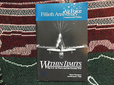 WITHIN LIMITS: US AIR FORCE & THE KOREAN WAR - 1996 PB BOOK - USAF