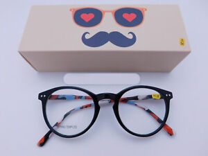 Trendy Fashion Round Keyhole Fame Readers With Box