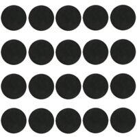 20pcs x 60mm Round bases For games Plastic Black Bases Miniatures Wargame Model