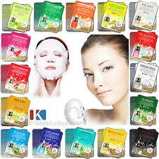 40pcs Korean Essence Facial Mask Sheet, Moisture Face Mask / Korean Cosmetics