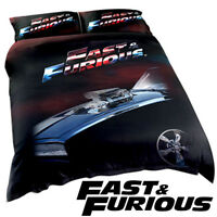 Fast & Furious Quilt | Duvet Doona Cover Set | Toretto | 1970 Charger R/T