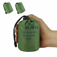 Emergency Survival Sleeping Bag Lightweight Waterproof Thermal Blanket Bivy Sack