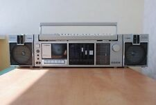 FISHER SC-300 with synthesizer Cassette Deck Boombox Ghettoblaster